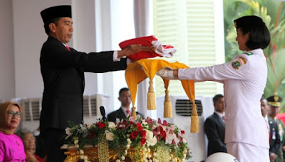 kegiatan presiden jokowi dalam Perayaan Unik Kemerdekaan RI ke 71