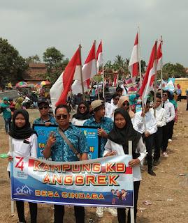 Kampung KB Cindaga Dalam Karnaval Desa Cindaga Tahun 2019