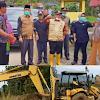 Wabup dan Sekda Kerinci  Tinjau Lokasi Tanah Longsor di Desa Baru Sungai Deras