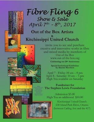 Fibre Fling 6 Show & Sale poster