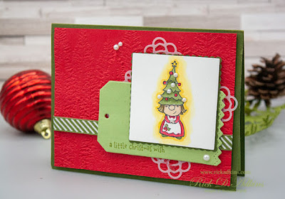 For my 15 Days of Christmas Special today I have Card #2 for you featuring the Gnome for the Holidays Stamp Set Click to learn more