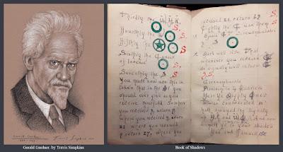 Gerald Gardner. Witchcraft. Book of Shadows. Gardnerian Wicca. Ceremonial Magick. by Travis Simpkins