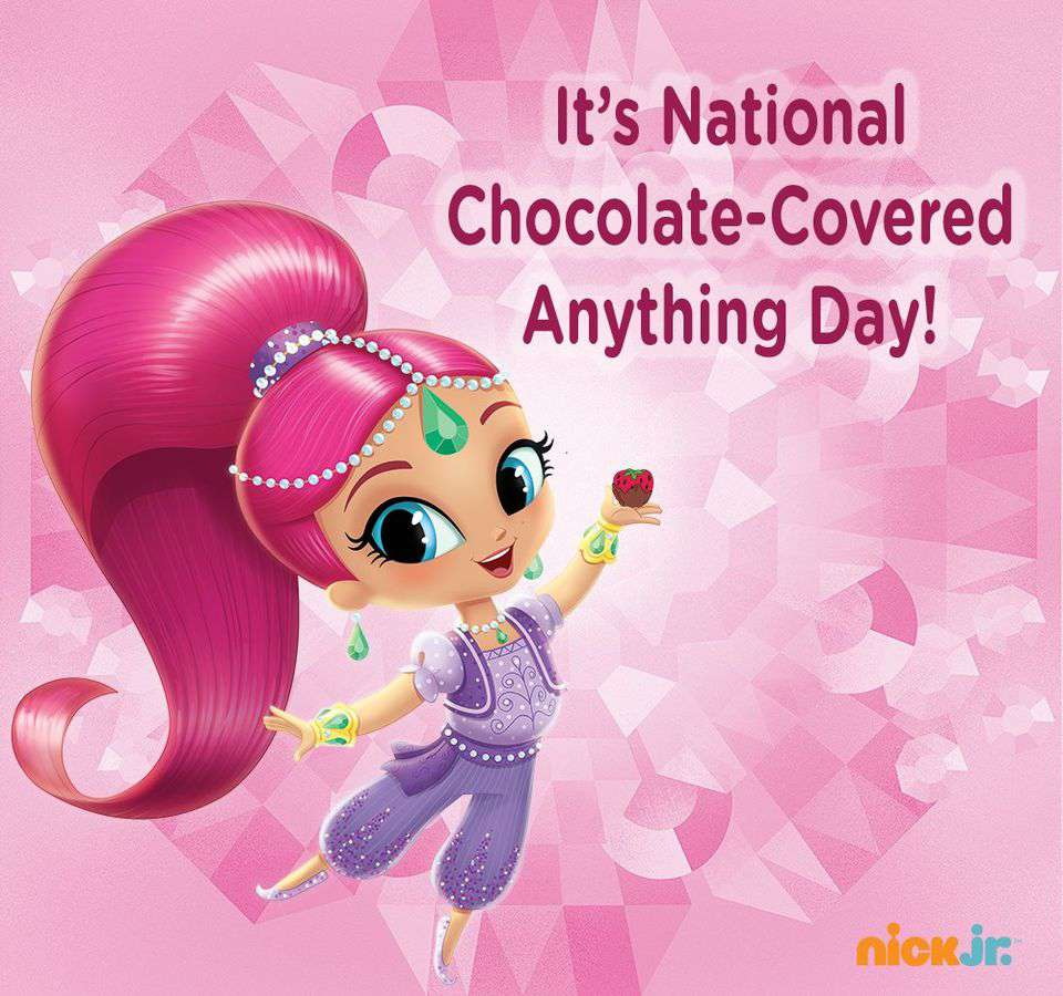 National Chocolate Covered Anything Day Wishes for Whatsapp