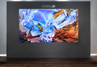MicroLED,LED,Samsung Electronics,The Wall,4K HDR,
