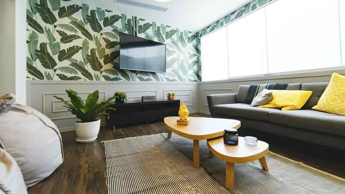 tamanho ideal de televisão para sala de estar