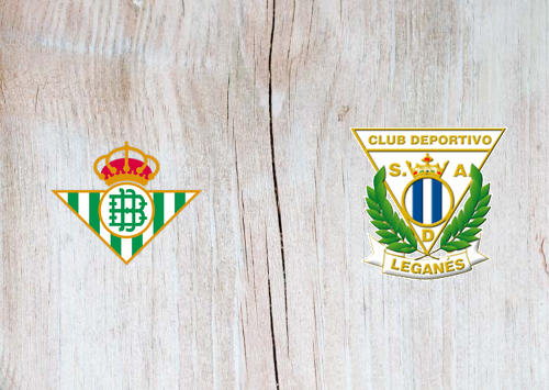 Real Betis vs Leganes -Highlights 31 August 2019