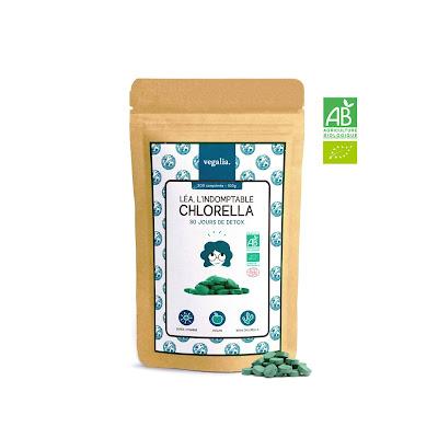 J'ai testé les bienfaits de la Chlorella chez VEGALIA