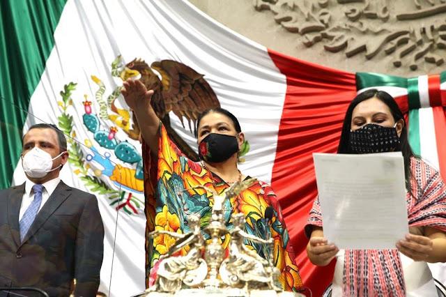 Dulce María Sauri Riancho nueva presidenta de la Mesa Directiva de la Cámara de Diputados