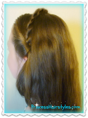 Cinderella hair tutorial, ball hairstyle from the live action movie