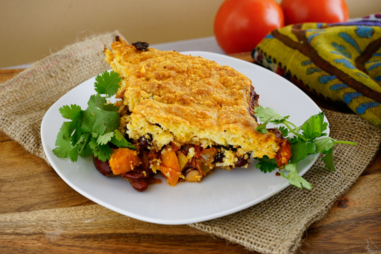 Vegetarian Tamale Pie