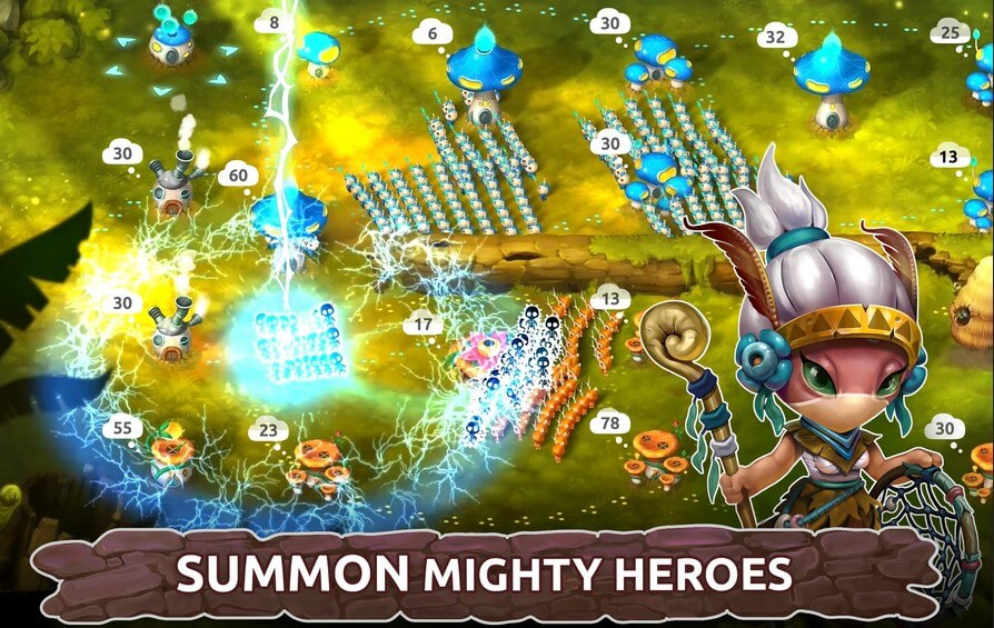 Download mushroom wars 2 full game apk for Android