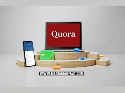 Hanya Modal Bertanya Dapat Menghasilkan Uang Dollar dari Quora