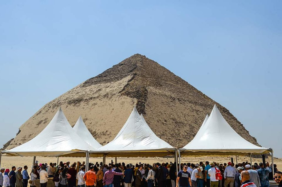 Egypt Publicly opens King Sneferu's Bent Pyramid