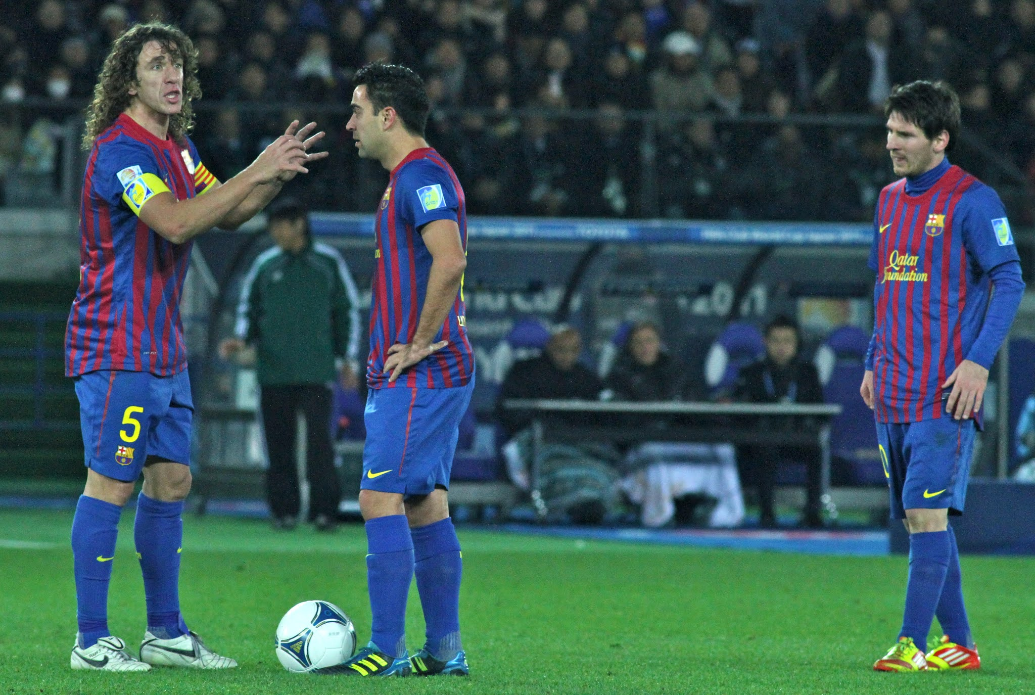 Puyol Supports Messi's