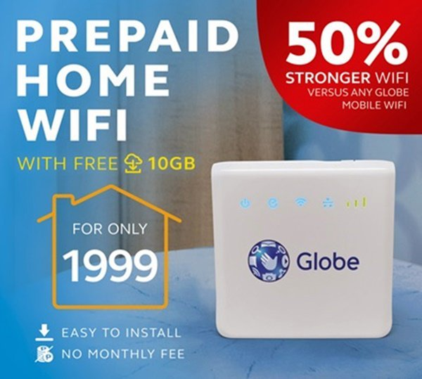 Globe Prepaid Home Wi Fi Is Back Sale Pinoy Unboxer