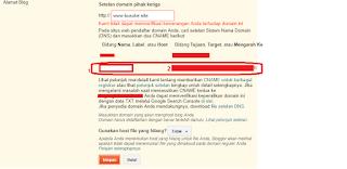 Beli Domain Sampai Mengaturnya di Blogger