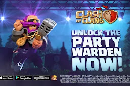 Skin Baru Party Warden untuk Grand Warden Clash Of Clans