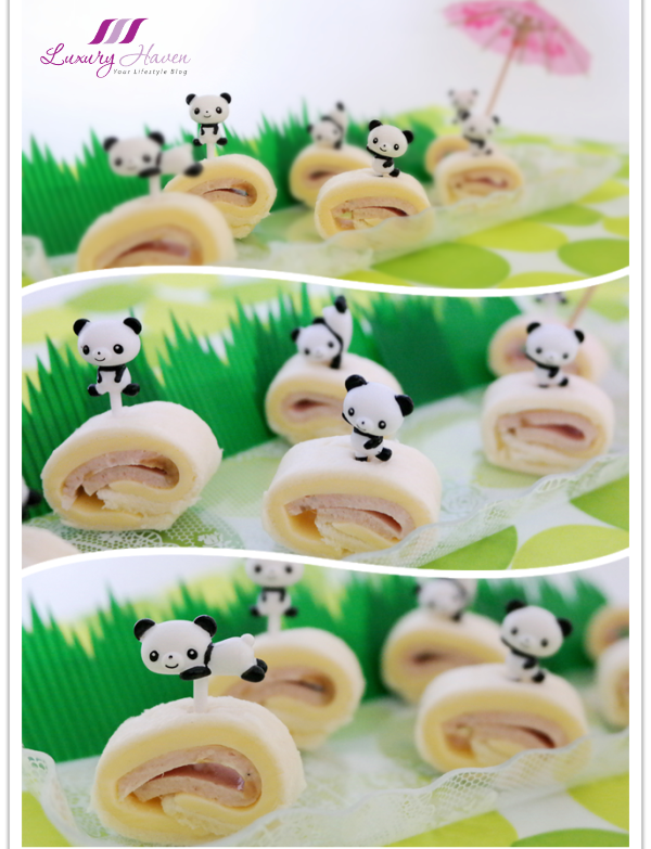 kraft cheddar cheese panda pinwheels for kids