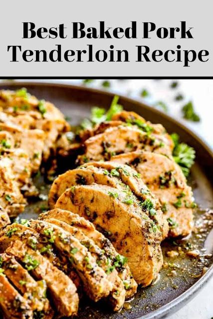 BEST Baked Pork Tenderloin Recipe #BEST #Baked #Pork #Tenderloin #Recipe Chicken Recipes Healthy, Chicken Recipes Easy, Chicken Recipes Baked,