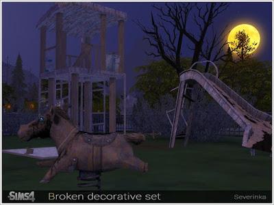 Детская площадка — наборы декора и объектов Sims 4 со ссылкой для скачивания
