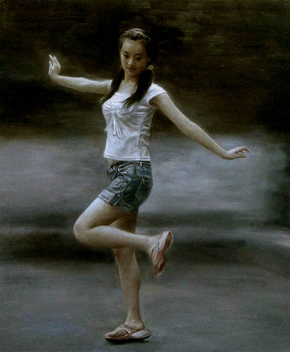 """""""Ladies Dance"""" by Wei Qing"""