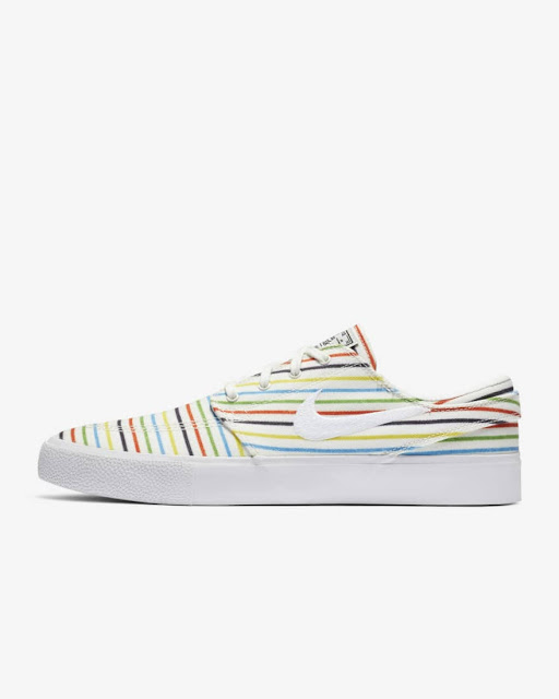 Nike SB Janoski Multi-colored Pinstripes