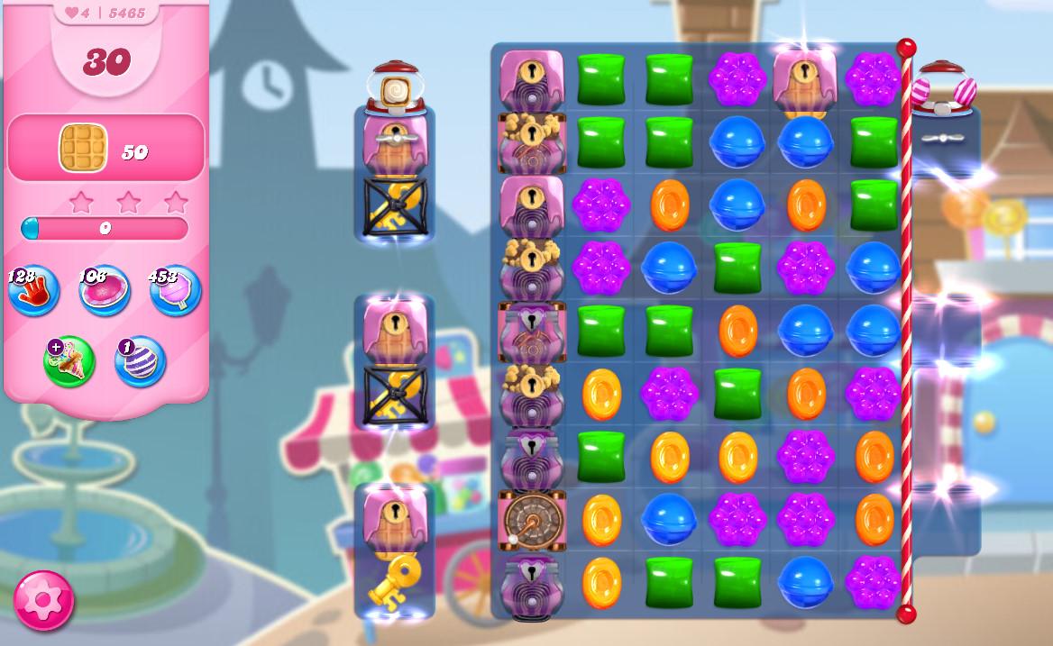 Candy Crush Saga level 5465