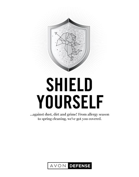 AVON SHIELD YOURSELF BROCHURE CAMPAIGN 14 2020
