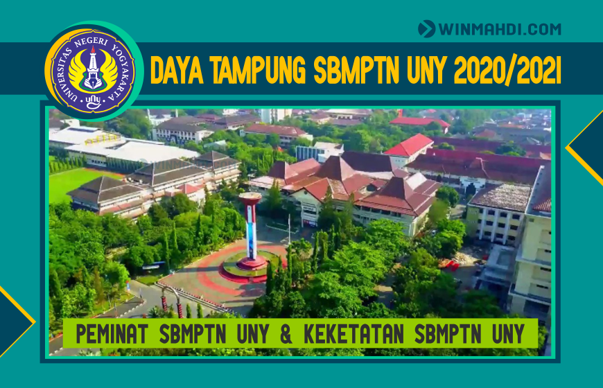DAYA TAMPUNG DAN PEMINAT SBMPTN UNY 2020