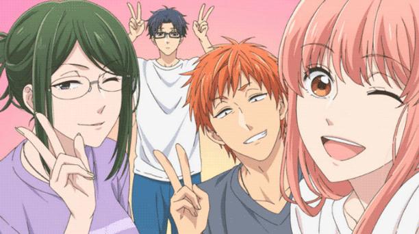 Anime Romance Slice of Life Terbaik - Wotaku ni Koi wa Muzukashii
