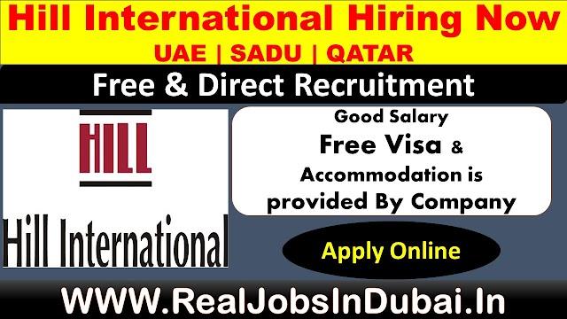 Hill International Careers Jobs In UAE & Saudi Arabia.