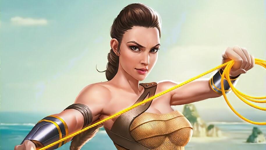 Wonder Woman, Amazon, DC, Art, 4K, #6.1192