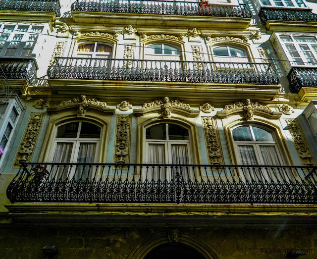 Casarão no Centro histórico de Cádiz