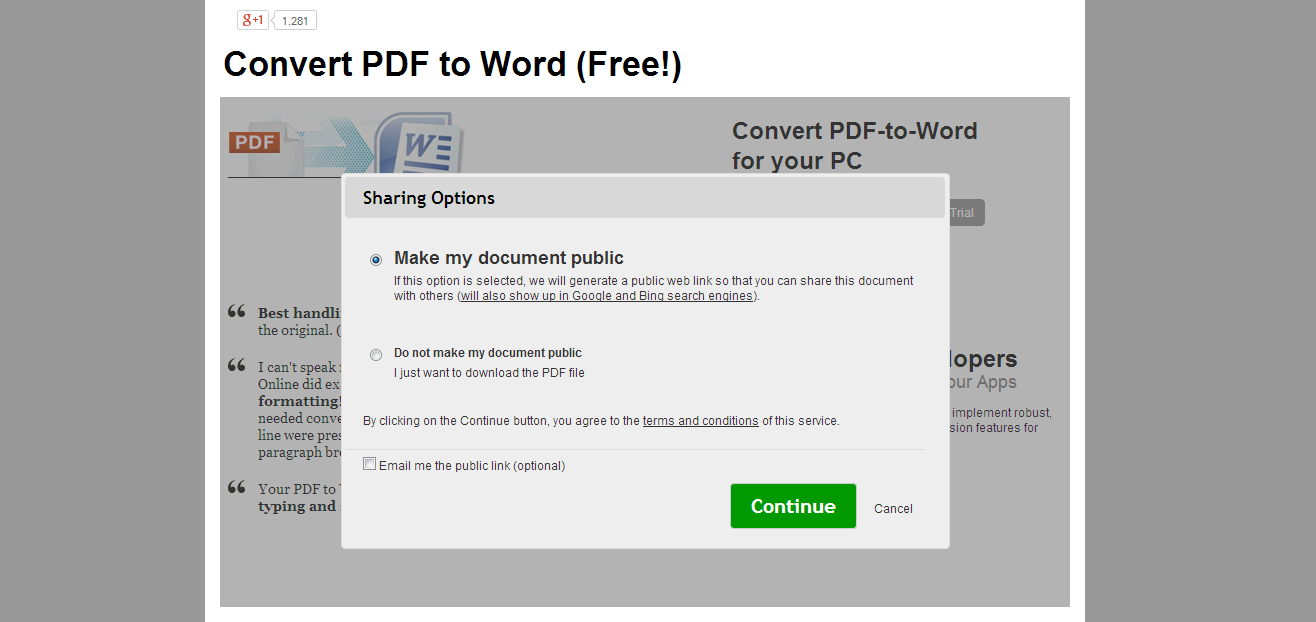 Cara Membuat PDF To Word