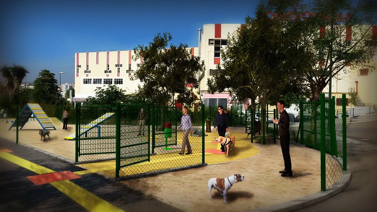 Dise o 3d de parque canino m laga decoracion de - Diseno de interiores malaga ...