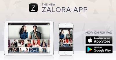 Aplikasi Toko Online Zalora