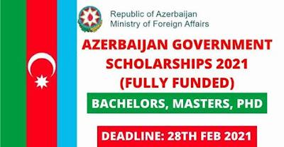 منحة حكومة أذربيجان 2021 للطلاب الدوليين - ممولة بالكامل لا يحتاج الطلاب إلى أي شهادات IELTS / TOEFL للتقديم