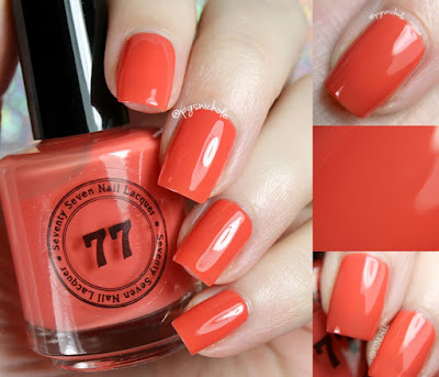 Seventy Seven Nail Lacquer Summer Daze | Hot Summer Nights Trio