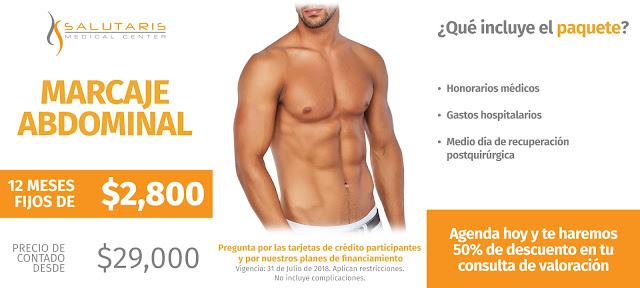 Precio Cirugia Plastica Estetica Marcaje AbdominaAbdomen Guadalajara Mexicol Cuadritos