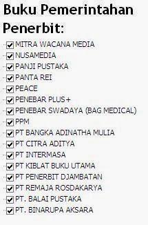 Buku Pemerintahan Penerbit Mitra Wacana, Nusamedia, Panji Online Murah