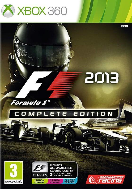 Cover Caratula F1 2013 Complete Edition XBOX 360 ESPAÑOL
