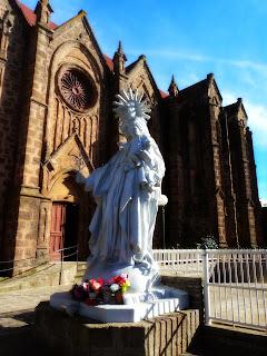 Imagem ao Lado da Catedral de Vacaria