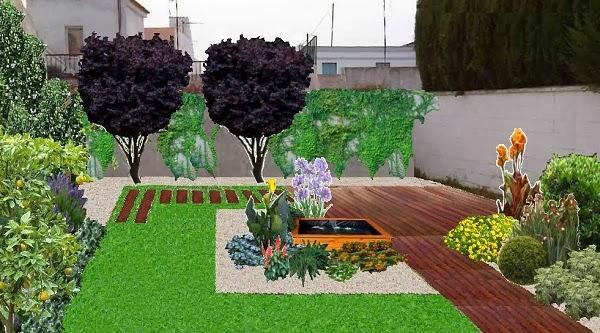 jardín, opción 1
