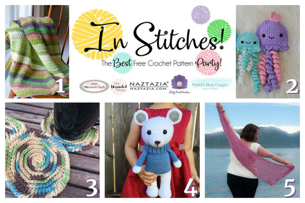 Best Free Crochet Patterns In Stitches Link Up Party 16 Marias