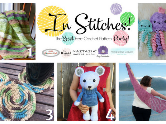 Best Free Crochet Patterns - In Stitches Link Up Party #16
