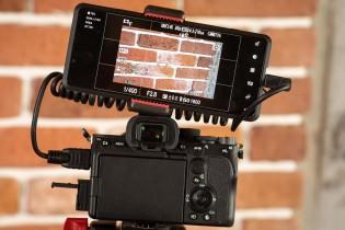 استخدام Sony Xperia Pro كشاشة للكاميرا
