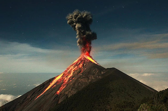 ¿Qué es un Volcán y como se clasifican?