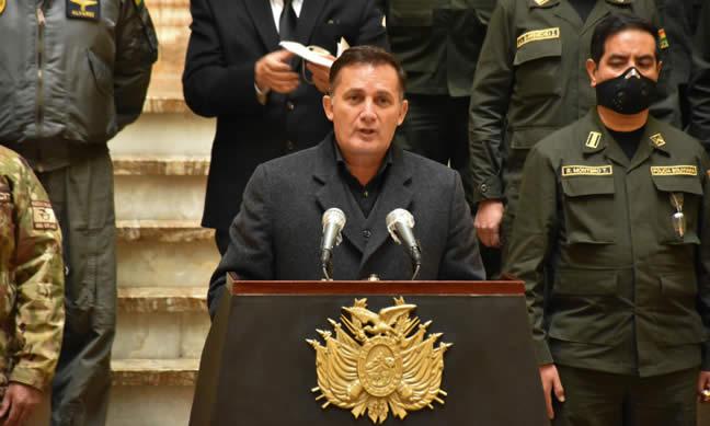 Gobierno denuncia que gente del Chapare llegó con una carga viral atroz para hacer desmanes en La Paz