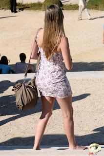 Mujeres europeas hermosas piernas lindas
