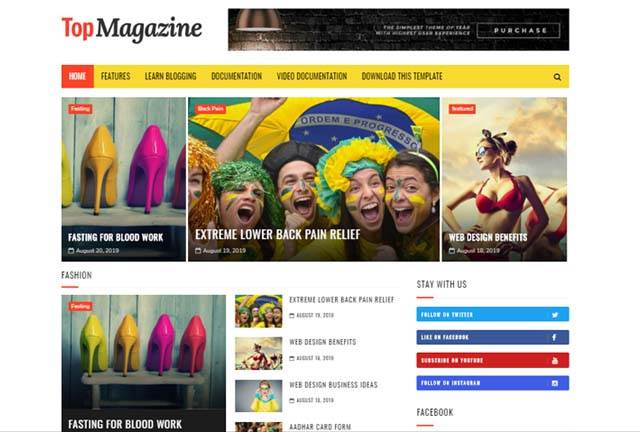 Best Websites to Download Free Responsive Blogger Templates 2020